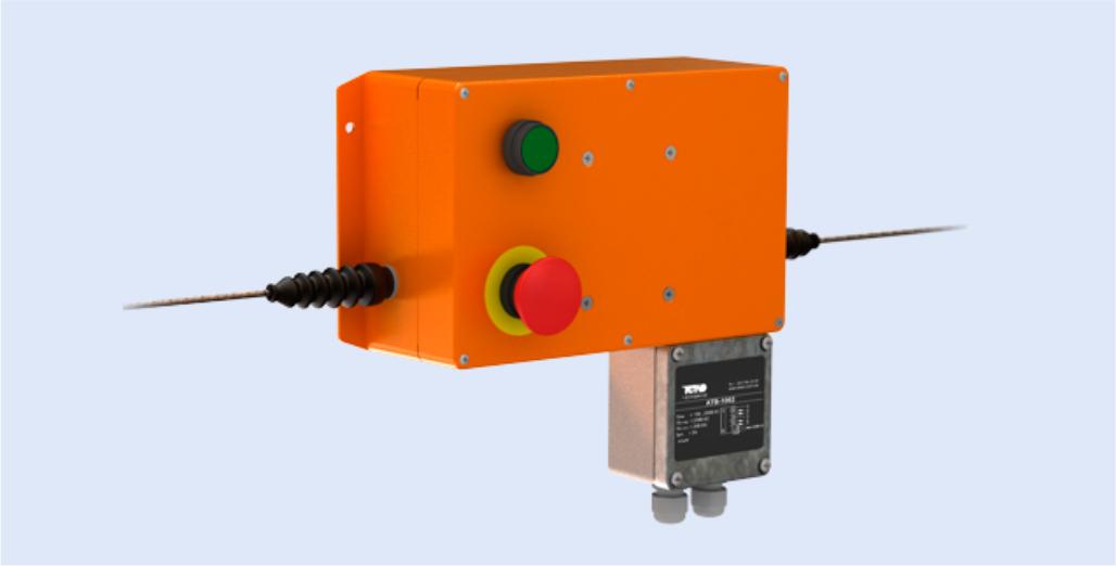 Тросовый датчик конвейера подлокотник транспортер